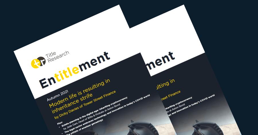 Autumn 2021 Entitlement