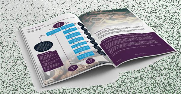 Intestacy guide mockup - transparent background